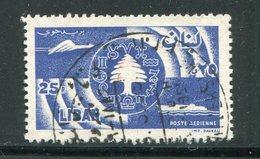 LIBAN- Poste Aérienne Y&T N°156- Oblitéré - Liban