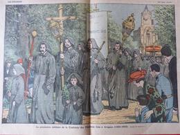Revue Le Pèlerin AVIGNON Procession Jubilé Confrérie Des Pénitents Gris (1226-1926) Religion Coutume Tradition - Livres, BD, Revues