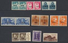 South West Africa - Sud Ouest Africain 1941 - 43 Effort De Guerre *  MVLH - South West Africa (1923-1990)