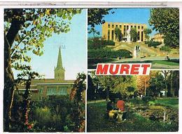 31 MURET  3 VUES 1991 - Muret
