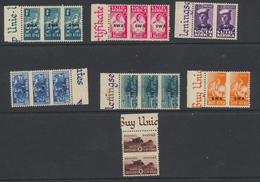 South West Africa - Sud Ouest Africain 1943 - 44 Effort De Guerre (sauf 1 1/2p) *** MNH Ou *  MVLH - South West Africa (1923-1990)