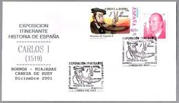 Emperador CARLOS I (España) - CARLOS V (Alemania). Exp.Itinerante Diciembre 2001 - Historia