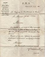 15 - PLEAUX - Petit Séminaire De Pleaux, 1837 - Diocèse De Saint-Flour - Bulletin Scolaire - Diplômes & Bulletins Scolaires
