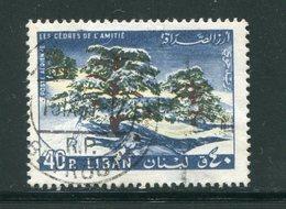 LIBAN- Poste Aérienne Y&T N°343- Oblitéré - Liban