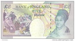 GREAT BRITAIN P. 391c 5 P 1993 UNC - 5 Pounds