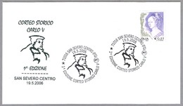 CORTEJO HISTORICO CARLOS V. San Severo, Foggia, 2006 - Historia