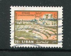LIBAN- Poste Aérienne Y&T N°392- Oblitéré - Liban