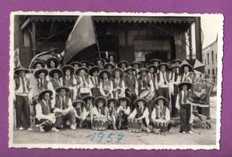 CARTE POSTALE / CARTE PHOTO - BELGIQUE - OUGREE - GROUPE FOLKLORIQUE / 1957 - Seraing