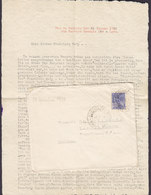 Brazil RIO DE JANIERO 1928 Cover Brief W. Original Letter BERLIN - LANKWITZ Germany - Brasil