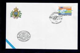 SAN MARINO 1995 - POSTACELERE  - FDC - San Marino