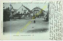 90. GIROMAGNY . Faubourg De Belfort . - Giromagny