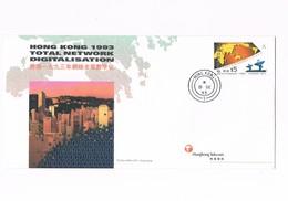 Hong Kong - Cover Stemps - Total Network Digitalisation - 1993 - Otros