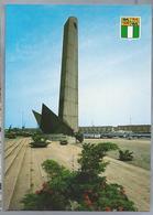 NL.- ROTTERDAM. - DE BOEG - Op Het Leuvehoofd. Ontwerper Prof. F. Carrasso. Gevallene V.d. Ned. Koopvaardij Oorlog 40-45 - Sculpturen