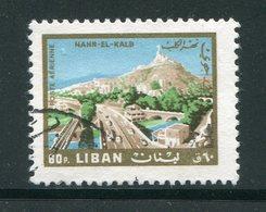 LIBAN- Poste Aérienne Y&T N°395- Oblitéré - Liban
