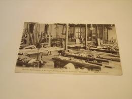 ECOLE NATIONNAL D ARTS ET METIERS AIX EN PROVENCE MENUISERIE  1917 - Cartoline