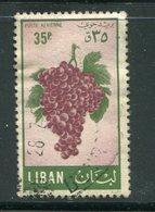 LIBAN- Poste Aérienne Y&T N°123- Oblitéré (fruits) - Liban