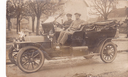 CPA 36 @ CARTE PHOTO LE BLANC - Jouffroy émile - AUTOMOBILE Vers 1915 @ Eugène Perraguin Photographe - Le Blanc