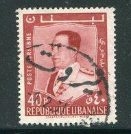LIBAN- Poste Aérienne Y&T N°187- Oblitéré - Liban