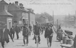 MONTLUCON - Sortie Des Ouvriers De L'usine St Jacques - Montlucon