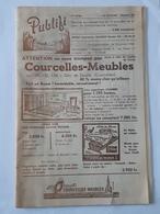 Programme De 1962 , Pub De Berzée , Courcelles , Nalinnes , Jamioulx , Ham-Sur-Heure , Gozée , Thy-le-Chateau , Etc..NA. - Publicités