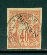 Reunion 14 Used, Peace & Commerce, Circular Cancel, Scott 14 - Reunion Island (1852-1975)