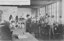 ESPERAZA - Industrie Du Chapeau Mérinos - Le Bichonnage (avis De Passage Au Vero) Isidore BIEULES - Other Municipalities