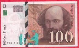 "200 Francs ""Cezanne"" 1997 ------XF/SUP+---N ° V021510643 - 1992-2000 Dernière Gamme"