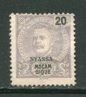 NYASSA- Y&T N°18- Oblitéré (léger Clair) - Nyassa