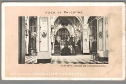 CPA Israël - Nazareth - Eglise De L'Annonciation - Chocolaterie D'Aiguebelle - Israel
