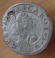 Philippe IV 1 Gros 1623 Besançon Franche Comté Buste De Charles-Quint - 476-1789 Feodale Periode