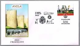 12 MESES - 12 SELLOS - AVILA - LOS TOROS DE GUISANDO. SPD/FDC Avila 2018 - Prehistoria