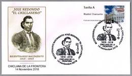 """TORERO JOSE REDONDO """"EL CHICLANERO"""" - Bullfighter. Chiclana De La Frontera, Cadiz, Andalucia, 2018 - Fiestas"""