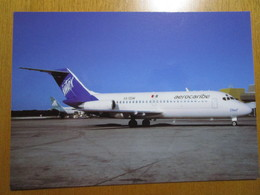 Inter - Aerocaribe Linea Aérea  McDonnell Douglas DC-9 XA-SSW At Mexico - 1946-....: Era Moderna