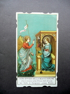 Santino Vera Effigie Beata Vergine Grazie Colle Di Covignano Rimini Primo '900 - Altre Collezioni