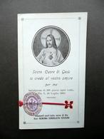 Santino Reliquia Suor Benigna Consolata Ferrero Monastero Della Visitazione Como - Altre Collezioni