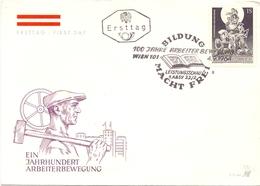 OSTERREICH FDC BILDUNG MACHT FREI  1964  (GEN190037) - Professioni
