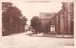 56  .  N° 201351   .    SAINT BARTHELEMY    .     ARRIVEE PAR LA ROUTE DE PONTIVY - France