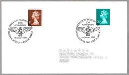 50 Años OPERACION BODENPLATTE - 50 Years Operation Bodenplatte. BFPS 1995 - WW2 (II Guerra Mundial)