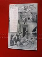 Calendario Mese Di Maggio 1905, Illustrata - Viaggiata Il 23.5.1905, Ed. Alterocca - Cartoline