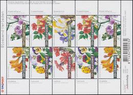 2098-2103 Sommermarken Blumen 2003 - Kleinbogen, Postfrisch ** - Niederlande