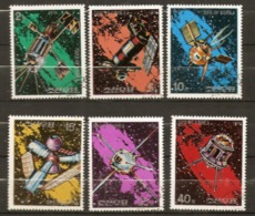 North Korea  1976  SG  1507-12  Space Flights Fine Used - Space