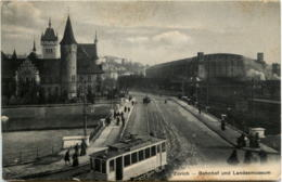 Zürich - Bahnhof Mit Tram - ZH Zurich