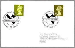 50 Años LIBERACION DE MANILA - 50 Years LIBERATION OF MANILA. BFPS 1995 - WW2 (II Guerra Mundial)