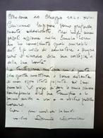 Autografo Benito Boccolari Lettera 110/5/940 Condoglianze Xilografia Modena Arte - Autografi