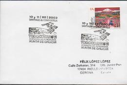3361  Carta Santiago De Compostela 2003, TODOCOSMOS, ,Astronomía, Xunta De Galicia - 1931-Hoy: 2ª República - ... Juan Carlos I