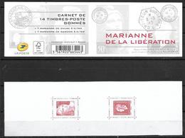 France 2015 Carnet C1522 Neuf** Marianne De La Libération - Booklets