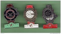 PARI-DAKAR CAPITOL *** Lot De 3 Pin's Differents *** 0002 - Car Racing - F1
