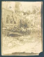 51 Chatillon Sur Marne Prieuré De Binson 1918 Photo 8 X 10.5 Cm - Places