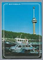 NL.- ROTTERDAM. - EUROMAST Met SPACE TOWER -. Politieboten. - Architectuur