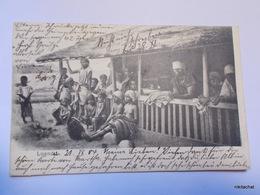 ANGOLA-LOANDA-Groupe De Personnes-1904 - Other
